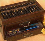 Abacus Stationery Box