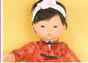 "Dragon Mandarin Suit for 12"" Doll"