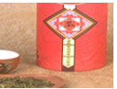 Green Tea in Container