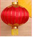 Silk Red Lantern