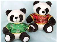 Panda in Chinese Outfit