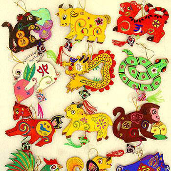 Zodiac Ornaments   Arts & Crafts   Chinese New Year   New ...