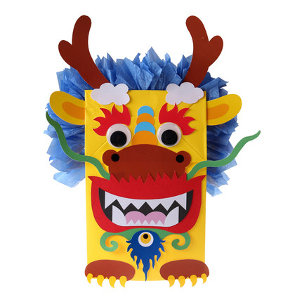Make your own dragon paper puppet arts crafts do it yourself do it yourself home arts crafts do it yourself solutioingenieria Choice Image
