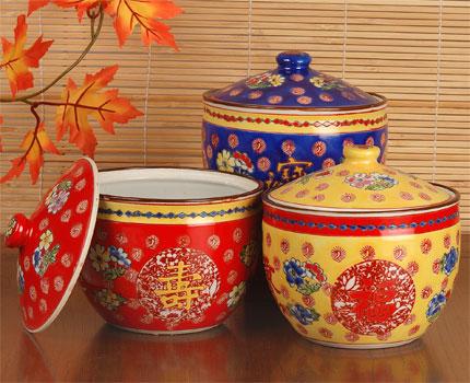Good Luck And Longevity Jars Home D Cor Table Decor