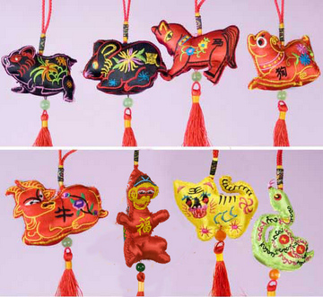 click - Chinese Christmas Decorations