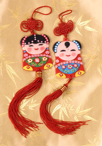 Clay Children Wall Hanging | Arts & Crafts | Chinese New Year | New ...