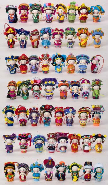 Toys For Minorities : Minority doll ornaments home décor wall decor