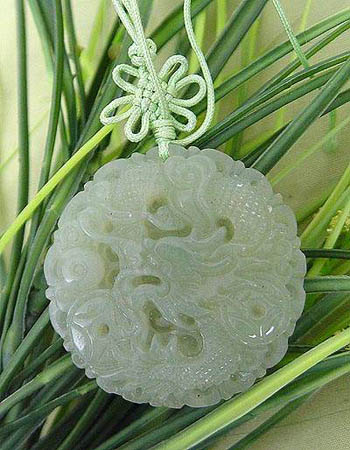 Dragon jade pendant chinese accessories jewelry jade click aloadofball Image collections
