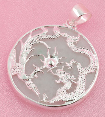 Dragonphoenix jade pendant chinese accessories jewelry jade click aloadofball Image collections