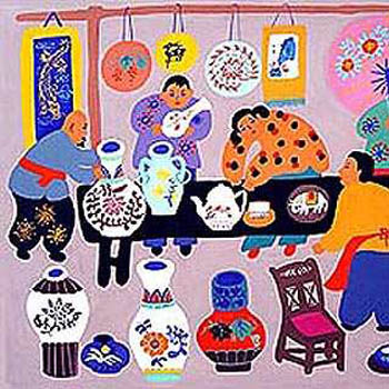 folk art paintings