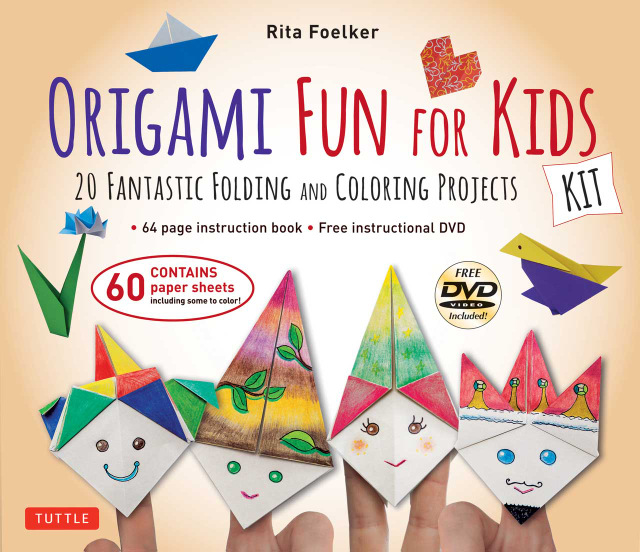 origami fun for kids kit chinese books art books