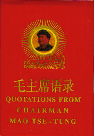 quotations from chairman mao tse tung chinese books literature