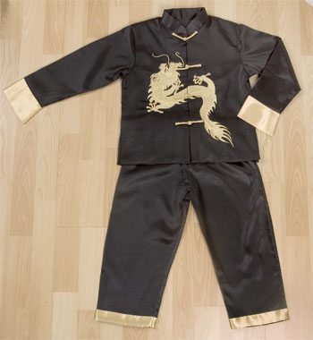 Silk Dragon Kung Fu Outfit