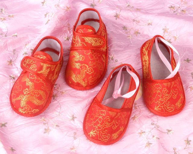 Baby Dragon Shoes Chinese Accessories Kids Shoes