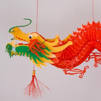 Plastic Dragon Cutout Hanging Arts Amp Crafts Chinese