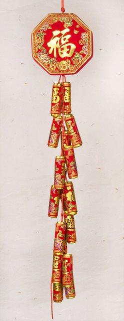 Firecracker Hanging Good Luck And Children Arts
