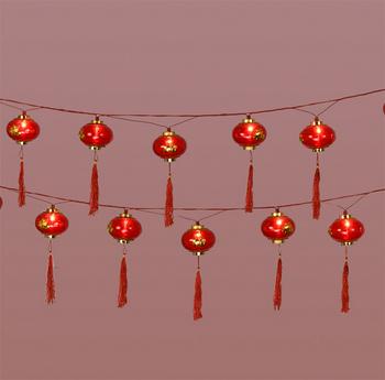 16 Good Luck Lantern String Lights Arts Amp Crafts
