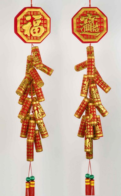 Big Chinese Firecrackers Decor | Arts & Crafts | Chinese ...