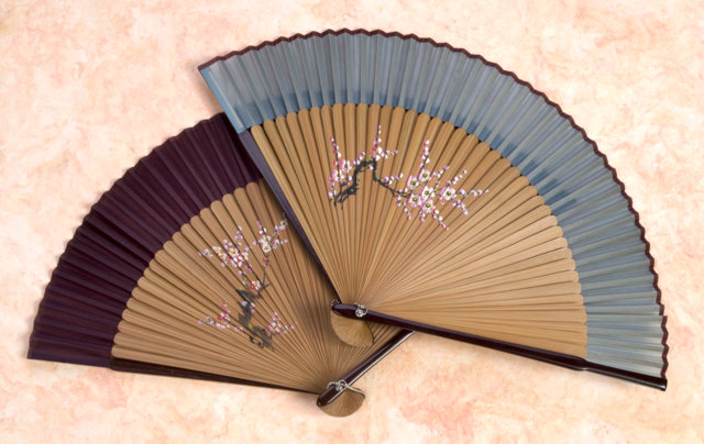 Cherry blossom fan chinese accessories women other for Oriental accessories