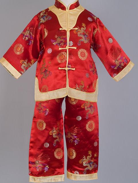 f5788f121a Dragon and Phoenix Mandarin Suit